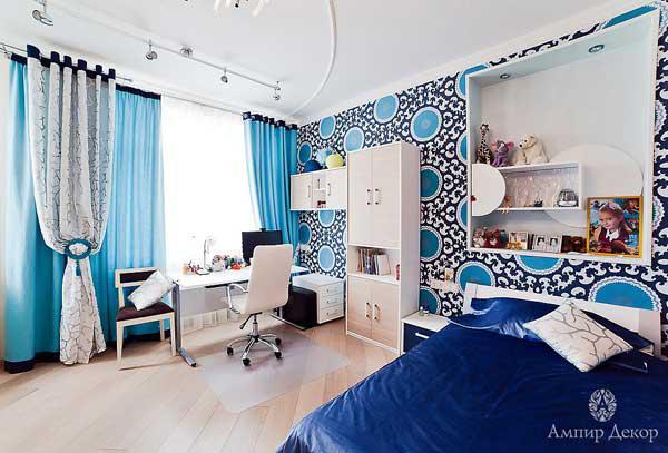Готовый дизайн проект квартиры студии (лофт) 32 квм