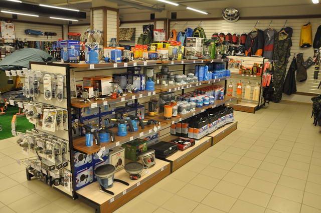 магазин много всего для рыбалки