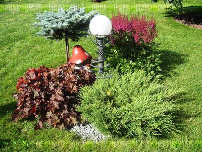 Благоустроенный сад
