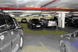 хранение колес в паркинге фото
