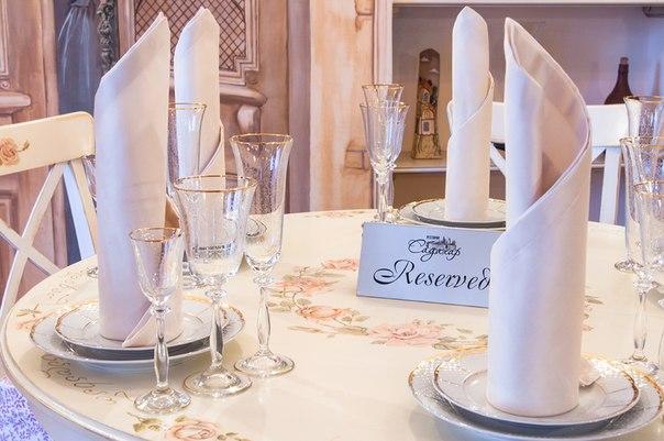 Столик в ресторане Садахар